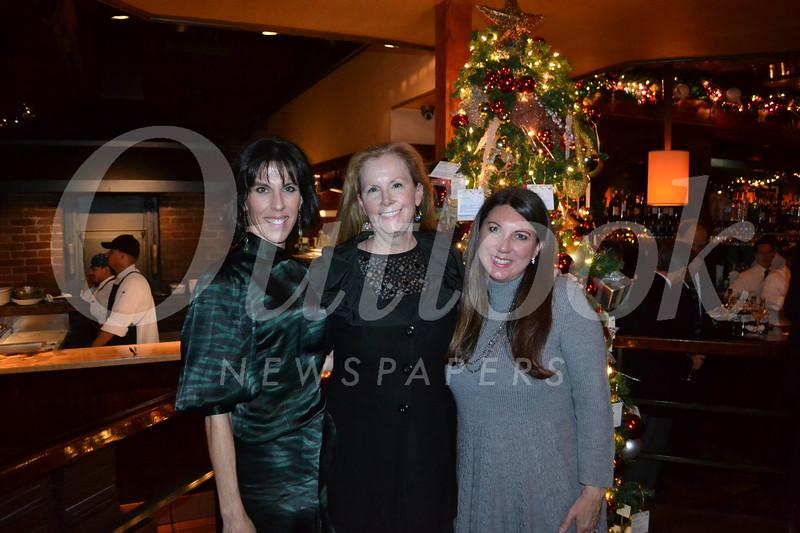 Tori Stover Mordecai, Carolyn Seitz and Katie Litwin