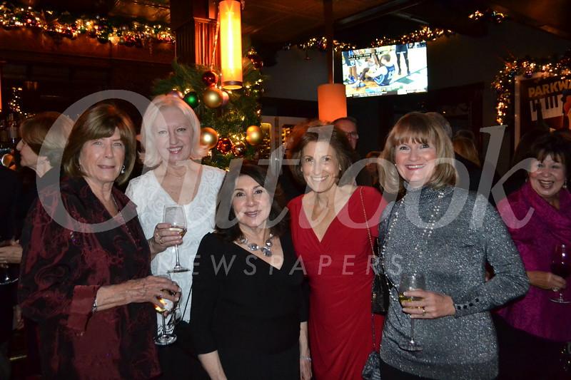 Donna DeMond, Claudia Sysock, Roberta Martin, Maureen Stanley and Caty Brennan