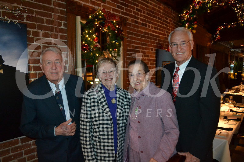 Don and Sally Clark with Julie and John Quinn