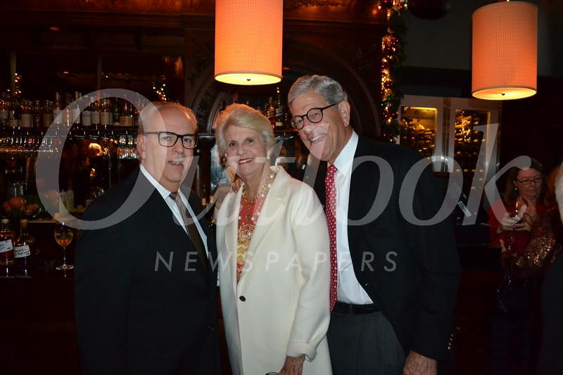 CEO Joe Costa with Debbie and Schuyler Hollingsworth