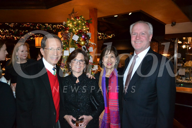 Ron and Leann Havner, Lauren Chang and George Seitz