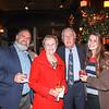 Paul Pontrelli, Sally and Don Clark, and Sally Pontrelli