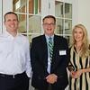 Liam McGuinness, Hillsides CFO Dan Braun and Sara Simpson