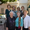 Past Presidents Gloria Koeppel (front row, from left) Jane Armel and Sharla Durant. Back: Sue Shieff, Lynn Cooper, Ruth Ann Bell and Marlene Konnar
