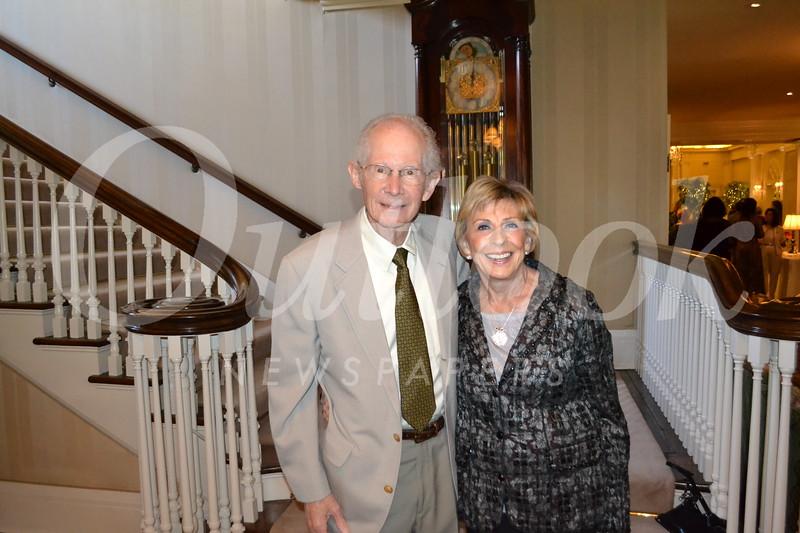 John Baldeschwieler and Marlene Konnar