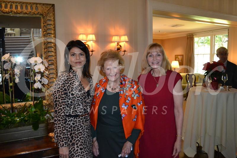 Lora Unger, Georgianna Erskine and Drusie Taylor