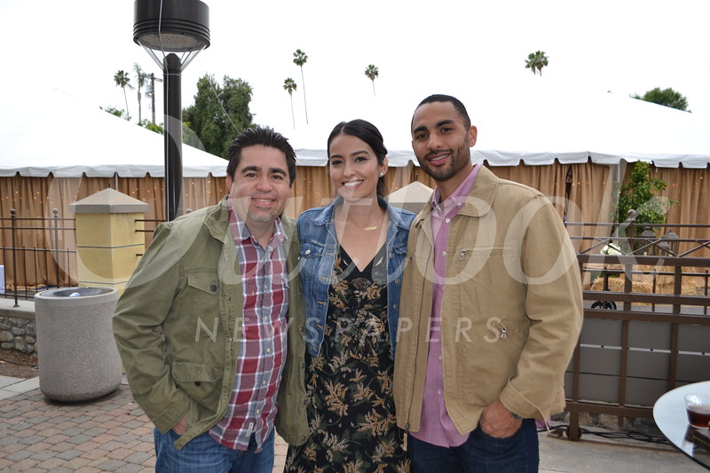 Jessie Mosqueda with Loren and Beau D'Silva