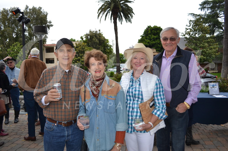 Jim and Charlene Seley with Margot and Mitch Milias