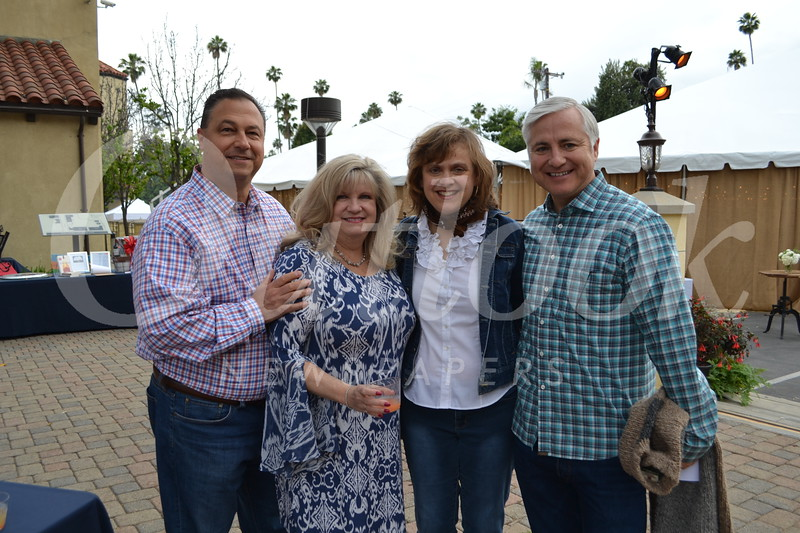 Ed and Andrell Panconi with Marie and Michael Reilly