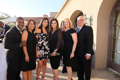 Raphael and Tyra Henderson, Jessica Flores, Alice Juarez, Kay Wolking and Sandy Slater