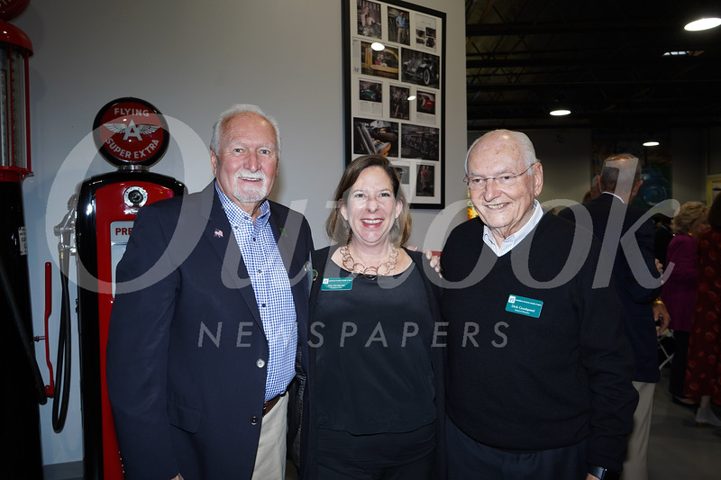 Steve McNall, Dia DuVernet and Dick Goodspeed