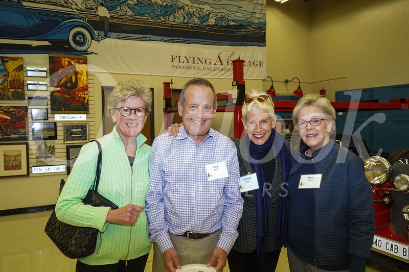 Carol Neher, Gary White, Courtney White and Mary Johnson