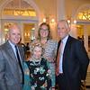 Bill Podley, Huntington Hospital CEO Dr. Lori Morgan, Rary Simmons and Scott Jenkins