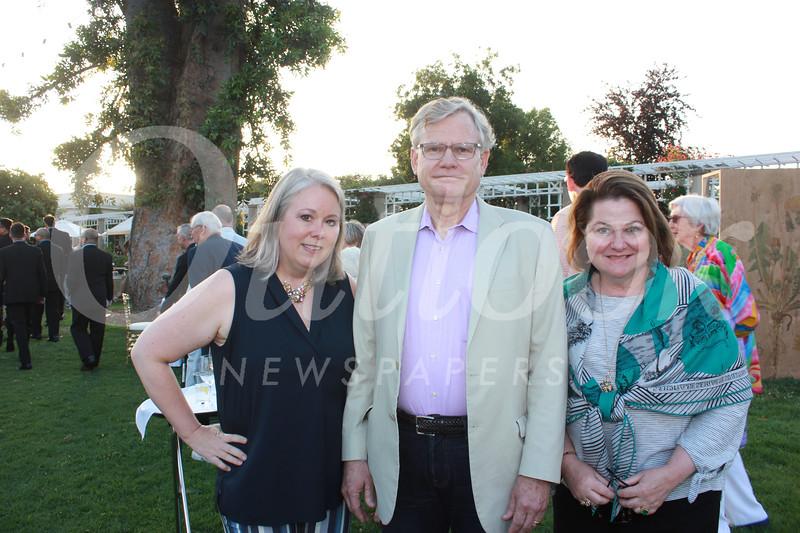 Stephanie Dencik with Charlie and Eileen Read
