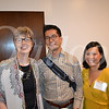 CEO Melissa Johnson, Martin Hsia and Vicki Chiang