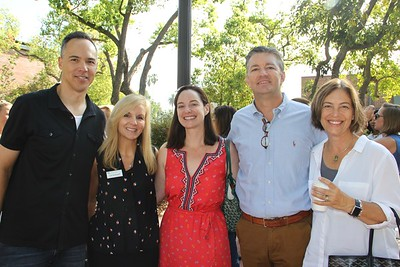 Andy Nakane, Lisa Vandergriff, Whitney and Don Morgan, and Laura Thompson