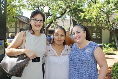 Stacy Yoshida, Rocio Bradley and Christine Valenzuela