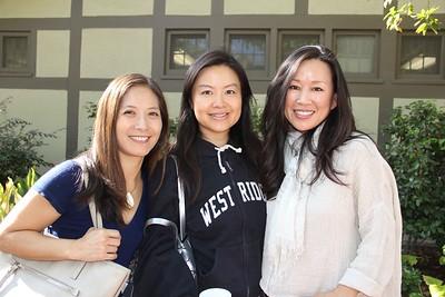 Emmy Yoshida, Winnie Wang and Jennifer Kirschenbaum