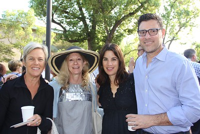 Samantha Hayes, Dyanne Stempel, and Elysa and John Dutton