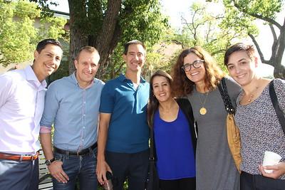 Robert Muñoz, Andy Wright, George Gund, Margarita Muñoz, Kati Haberstock and Talin Dikranian