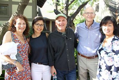 Nora Zamichow, Jean Liu, Peter Husmann, Jack Mullane and Suzy Husmann