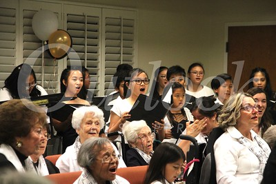 0618 The Los Angeles Young Ambassadors children's choir joined the concert