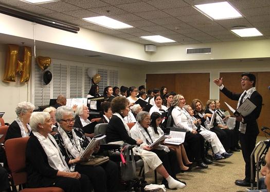 Joyful Hearts Choir Delights Villa Gardens Residents Outlook
