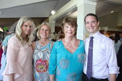 7582 Kara Weldon and Kathy Carlstrom with Janice and Brian Hunt