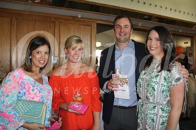 7583 Dana Banta and Kelley Terrazas with Jon and Catie Roheim