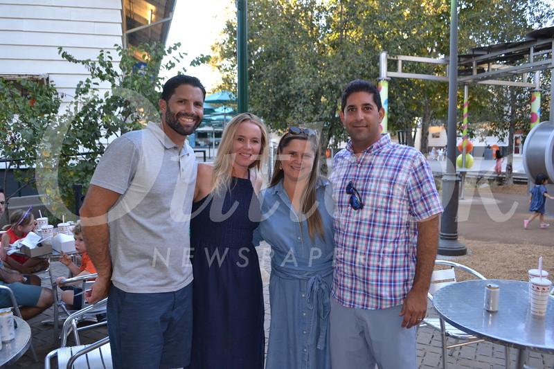 Jeremy and Nicole Moreau with Emily and Alex Macki