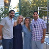 Jeremy and Nicole Moreau with Emily and Alex Macki