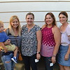 Pumpkin Festival Committee members Stacey Almeida with son Luke, Chelsea Dickerson, Amy Hasquet and Zoe Regan