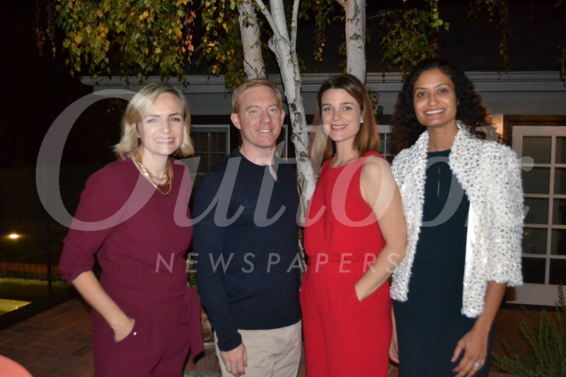 Kidspace Circle of Friends  President Claire Marco, party hosts Michael and Zoe Regan and event chair Neha Jespersen
