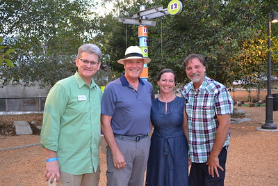 Michael Shanklin, Richard Garcia, and Linda and Chris Guardia