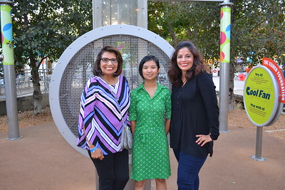 Yvonne Petty, Audrey Tam and Vanessa James