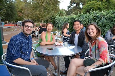 Brayden Wiggins, Ya-Ju Wang, Neil Chang and Teresa Lem