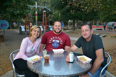 Kelly Galbo, Dan Tracey and Jay Galbo