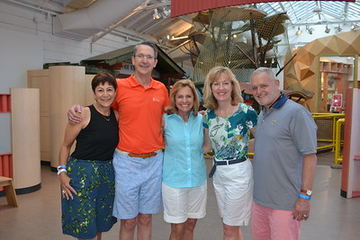 Michele and John Hall, Nancy McCullough, Sue McGuire and Bob Musselman