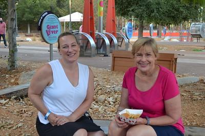 Karen Evans and Susan Von Tress