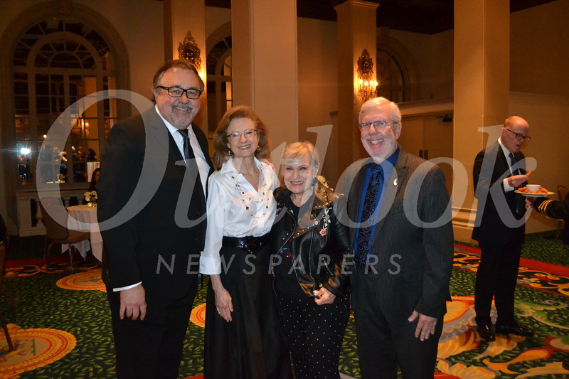 Don and Denise Hahn with Alice and Leonard Maltin