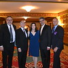 Honorees Don Hahn and Joe and Jennifer Sliskovich, artistic director Fernando Malvar-Ruiz and executive director Shawn Ingram