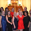 Gala committee: Jill Roberts (front row, from left), Jena Liddy, Elizabeth Voxman, Andrea Greene-Willard, Rashmi Bansal and Cheryl Scheidemantle. Back: Corina Madilian, Helen Spitzer, Annie Yeager Higgins, Andrea Bland and Laurie Modean.