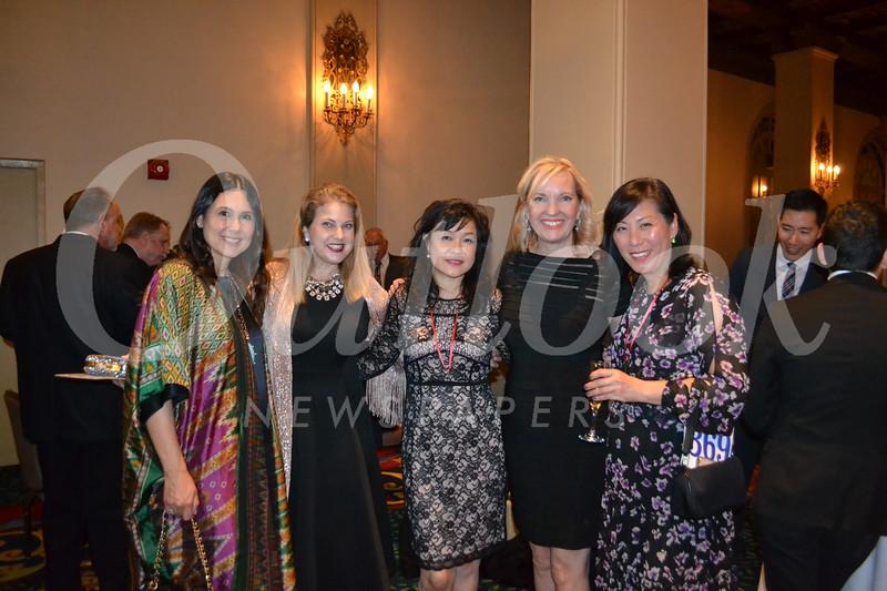 Corina Madilian, Claudia Boles, Dianna Lau, Laurie Modean and Helen Spitzer