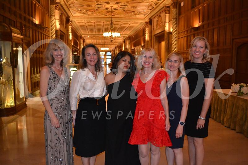Cheryl Scheidemantle, Andrea Bland, Rashmi Bansal, Andrea Greene-Willard, Elizabeth Voxman and Laurie Modean