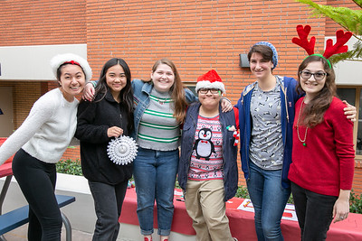 La Salle 'Adopts' Children for Toy Drive Party