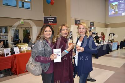Carol Kirland, Adrienne Barbee and Erin Lomas