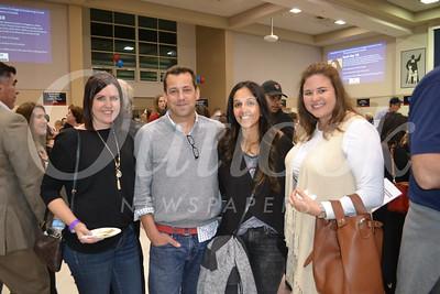 Kim Garber, Erik and Vivi Wahl and Lauren Leahy