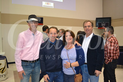 Joel Damir, Ron and Alison Curtiss and Robert Helbing