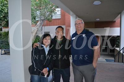 Winnie and Rene Calvario with Paul Lees