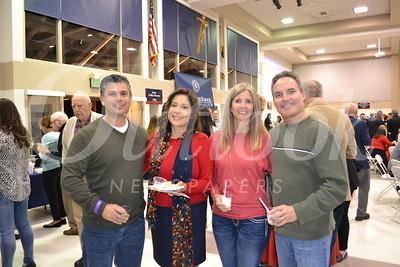 Dominic and Yolanda Holguin with Anna and Chris Fosselman